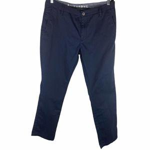 BILLABONG Blue Carter Chino Pants | 36